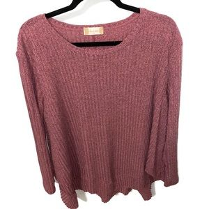 Altar'd State | Long Sleeve Ribbed Sweater